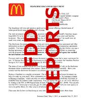 McDonalds FDD