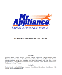 Mr Appliance FDD