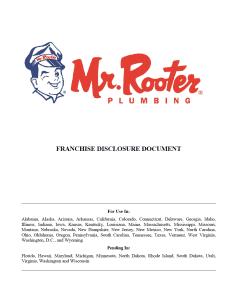 Mr Rooter FDD