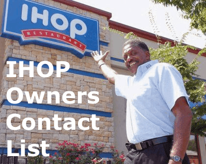 International House of Pancakes Franchise Owners Contact List