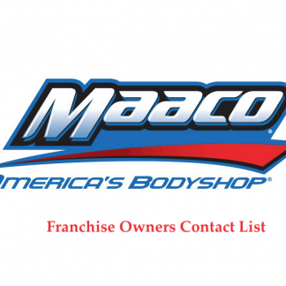 Maaco Franchise Owners Contact List