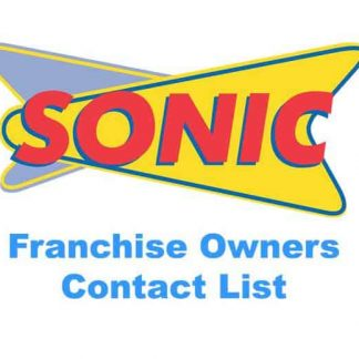 Sonic Franchise Owners List