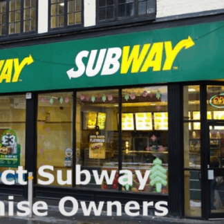 Subway Franchise Owners List