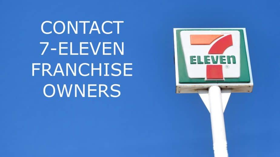 7 Eleven Franchise Owners Contact List