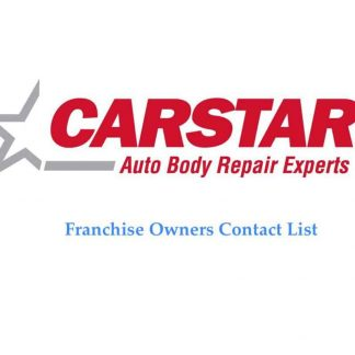 Carstar Franchise Contact List