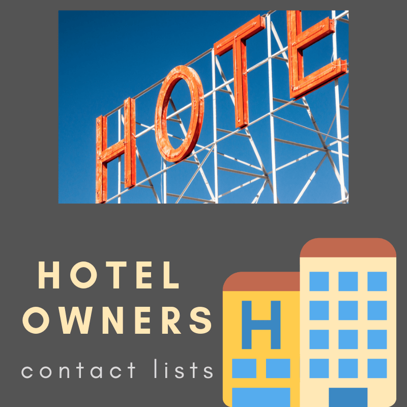 Hotel Franchise Contact Lists