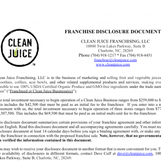 Clean Juice FDD Download